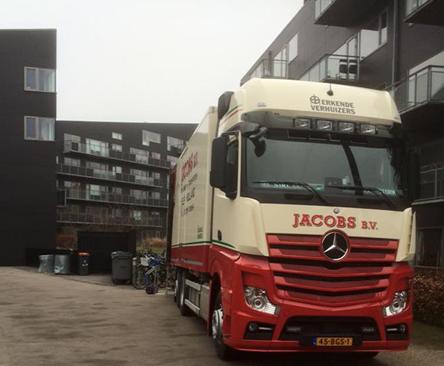 Jacobs verhuizing naar Denemarken