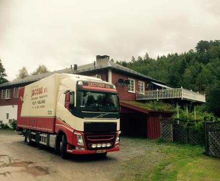 Verhuizing naar Noorwegen