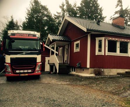 Verhuizingen naar Scandinavië