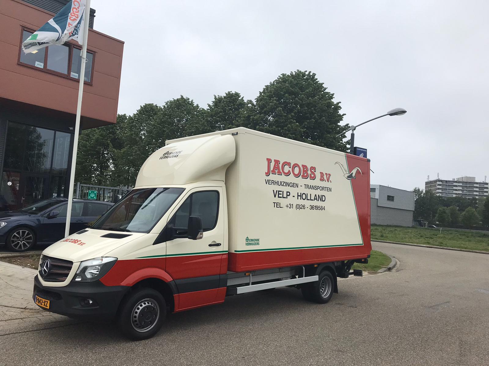 Bent u op zoek naar een professioneel verhuisbedrijf in Arnhem? Jacobs Verhuizingen BV in Velp, nabij Arnhem, helpt u graag bij de binnenlandse en buitenlandse verhuizingen.