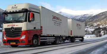 Verhuiswagen Jacobs Verhuizingen